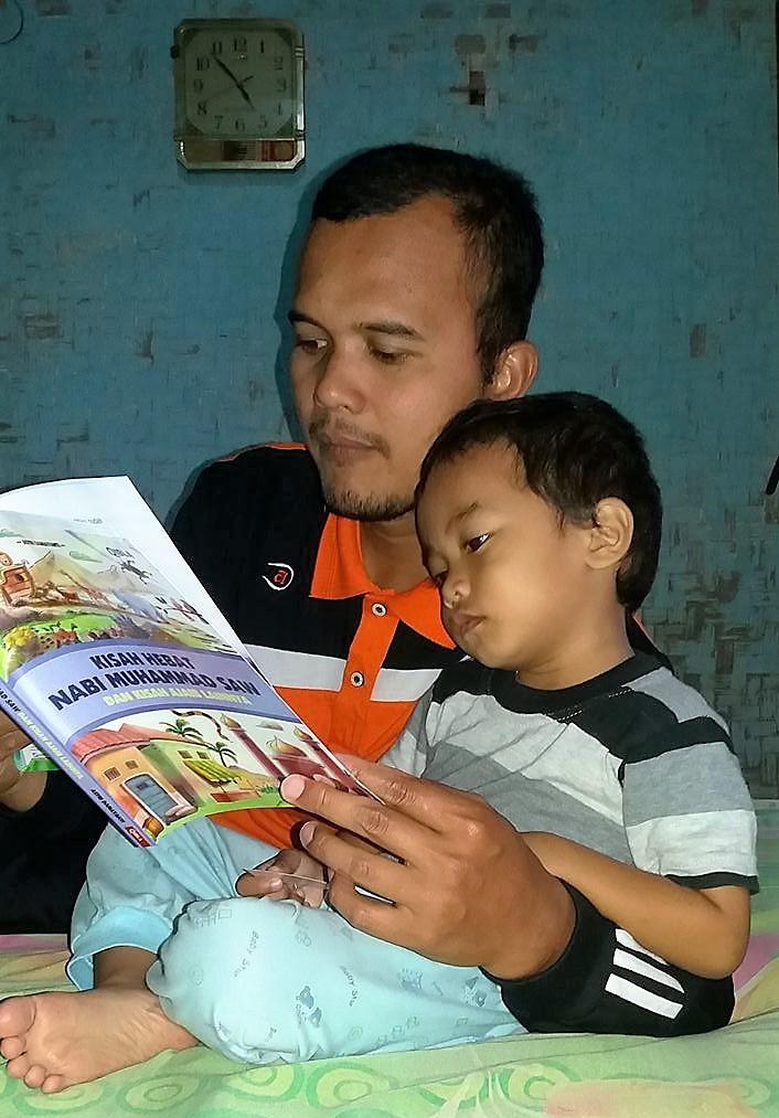 Ngabuburit dengan membaca kisah islami