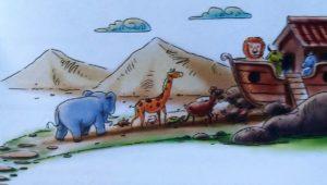 Ilustrasi dalam buku Kisah Hebat Nabi Muhammad SAW sangat disukai anak