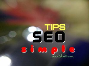 Tips SEO Simple
