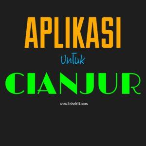 Aplikasi untuk Cianjur