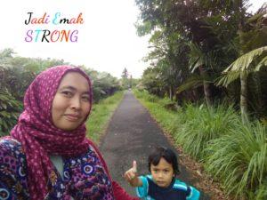 Belajar jadi Emak Strong