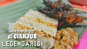 Legendaris! Sate Maranggi di Cianjur