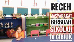 Receh Masyarakat Berbuah Sekolah di Cibiuk