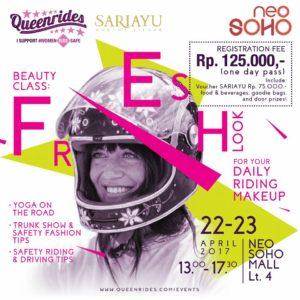 Beauty Class VS Safety Riding: Saatnya Perempuan Bawa Kendaraan Tetap Cantik dan Menawan
