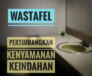 Wastafel: Bukan Hanya Kenyamanan, Keindahan Juga Patut Jadi Pertimbangan