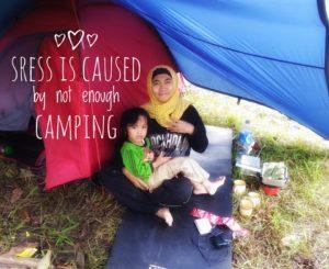 Camping: Mendidik Anak atau Gaya-gayaan?