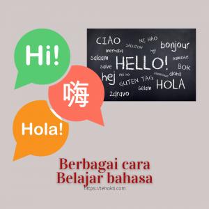 Berbagai cara belajar bahasa