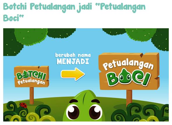 Aplikasi Edukasi untuk Anak-anak Petualangan Boci