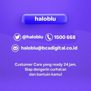Aplikasi blu by BCA Digital yang humble dan dekat dengan nasabah