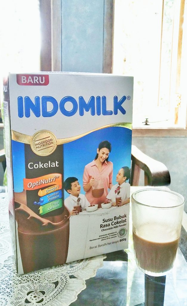 Indomilk Susu Bubuk varian cokelat 800 gram