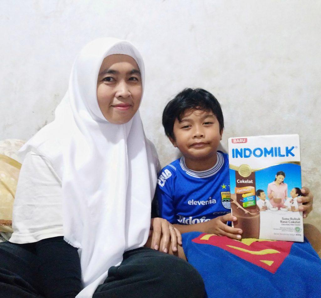 Susu bubuk untuk anak yang baik
