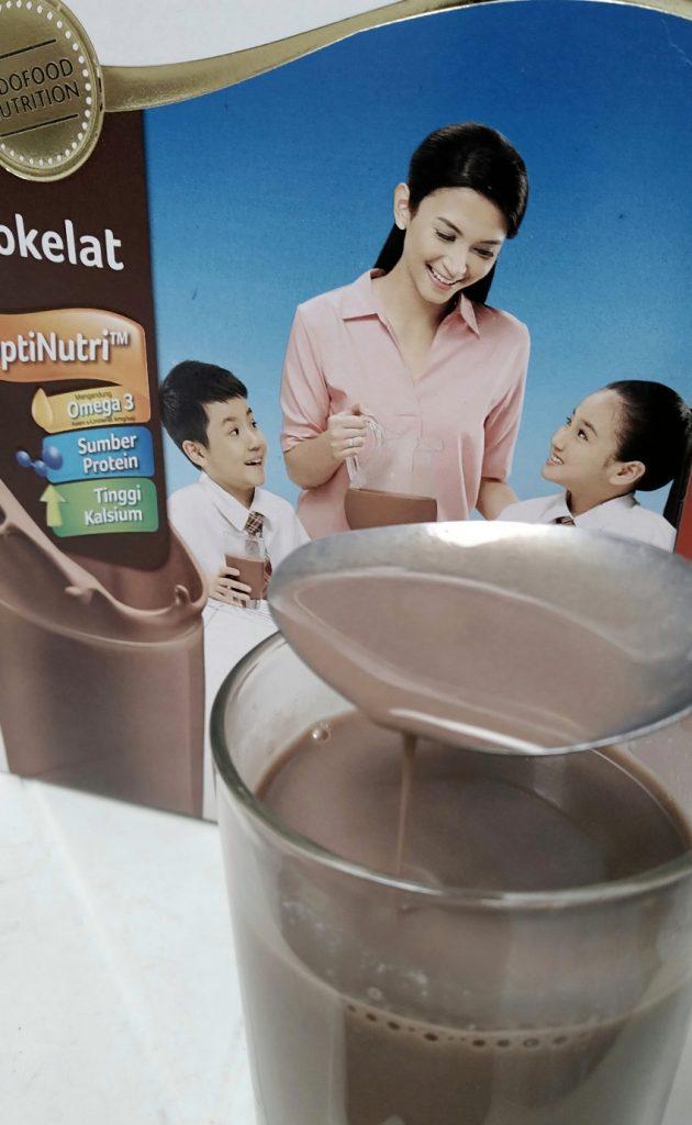 Manfaat susu bubuk Indomilk cokelat