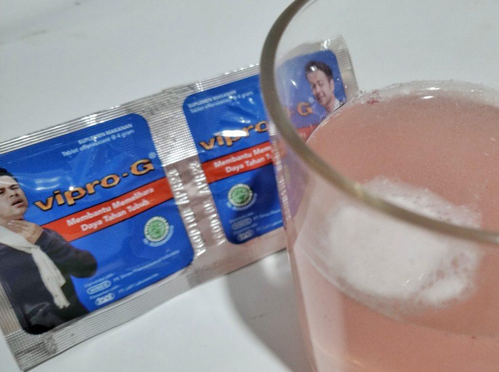Perhatikan efek samping Vipro-G untuk hasil terbaik