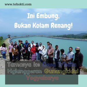Uniknya Desa Wisata Nglanggeran Yogyakarta: Ini Embung, Bukan Kolam Renang!