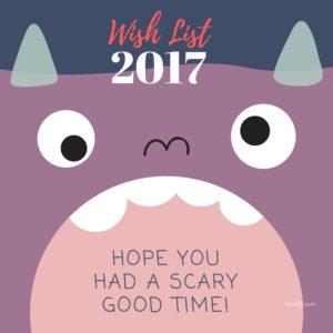 Wish List Sampai Akhir Tahun