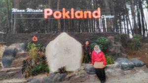 Pokland Lokasi Wisata Hutan Pinus Ngehits di Cianjur