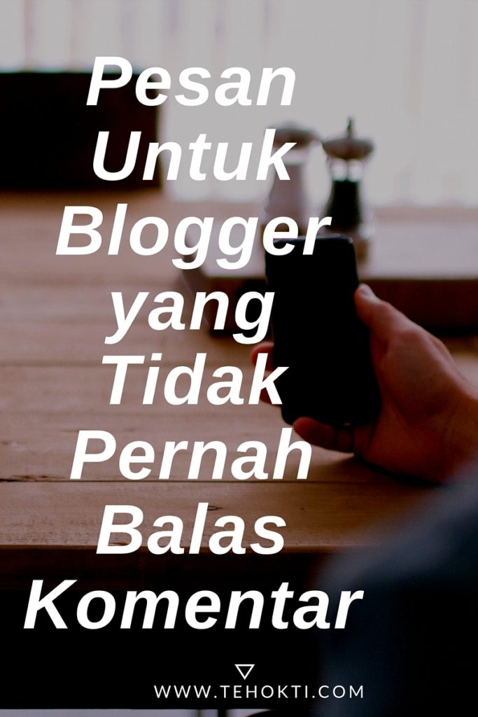 PesanUntukBloggeryangTidakPernahBalasKomentarrketing
