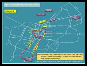 Rute Baru Angkutan Kota (Angkot) di Cianjur