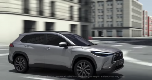 Toyota Corolla Cross screen shot sumber video YouTube Toyota Global