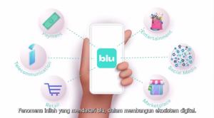 Layanan non perbankan dari aplikasi blu by BCA Digital
